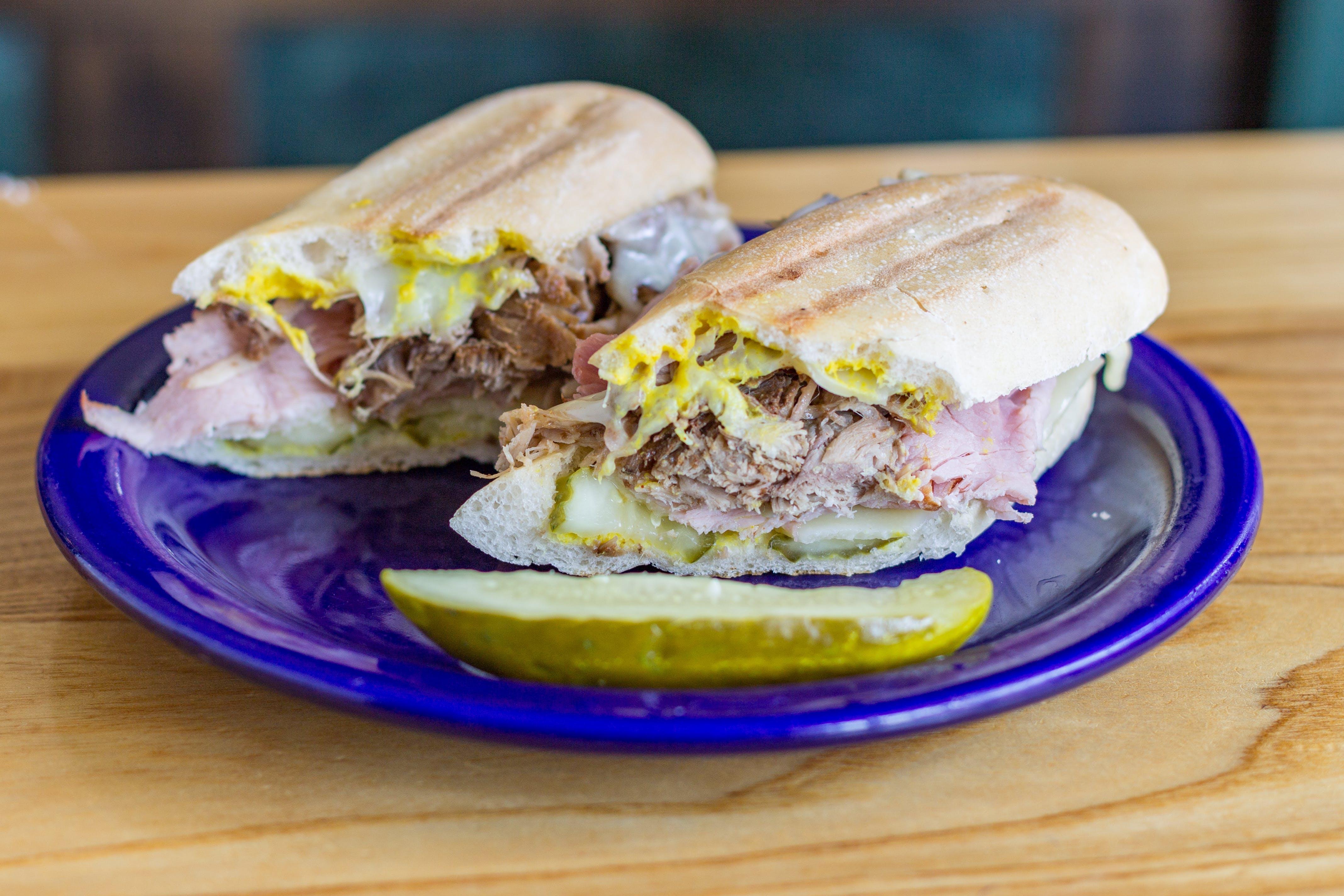 The Cubano Sandwich from Bodega Brew Pub in La Crosse, WI