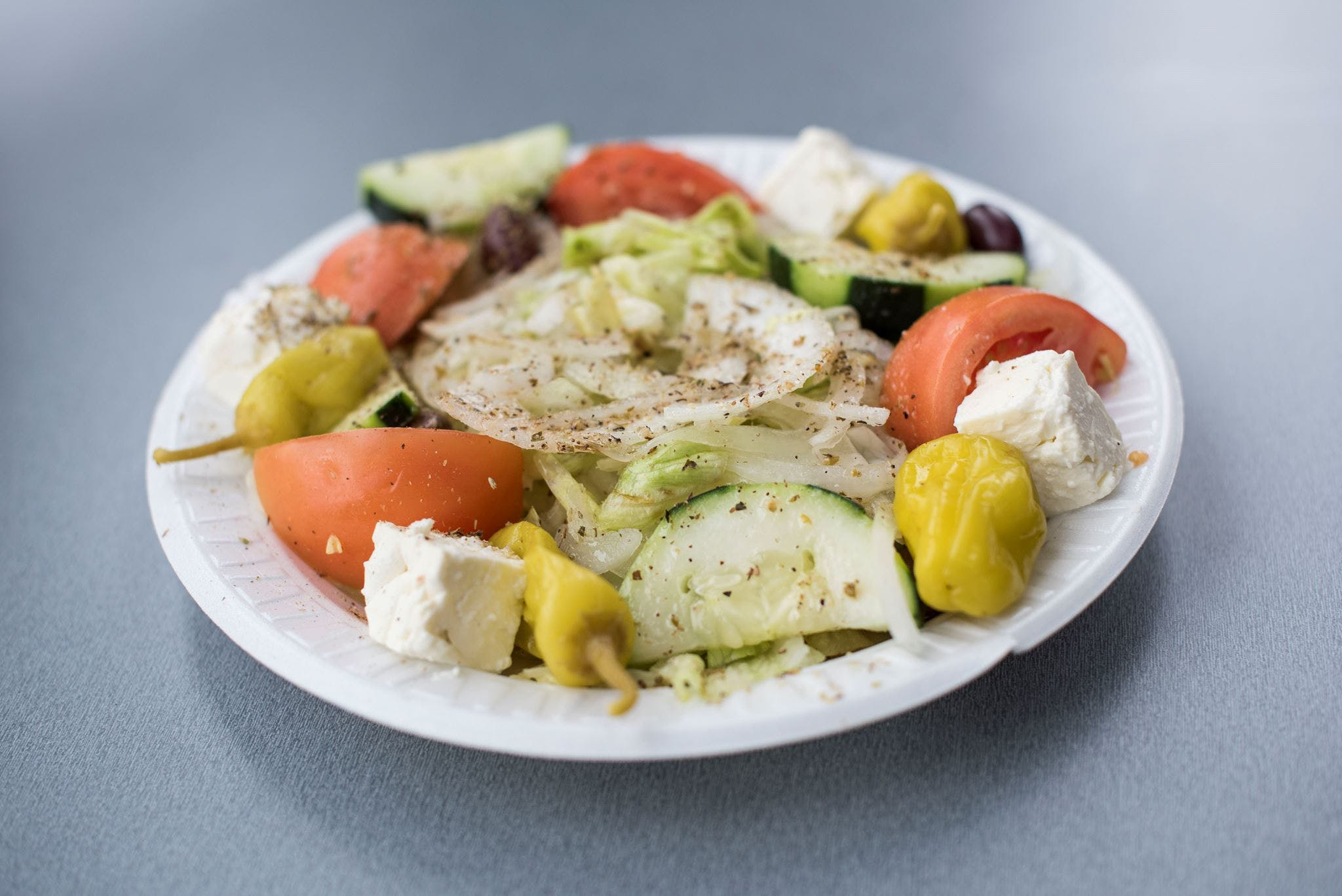 Greek Salad from Gyro Palace - Glendale in Glendale, WI