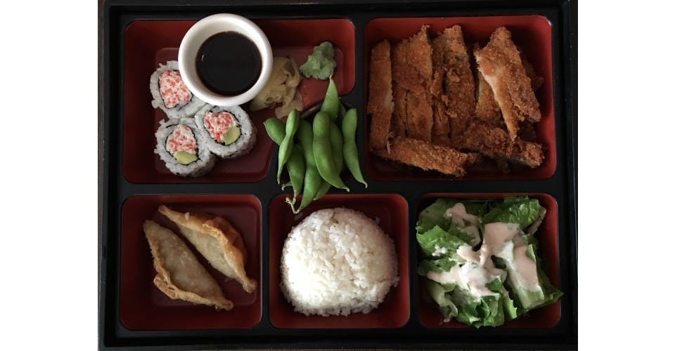 4. Lunch Bento D from Oishi Sushi & Grill in Walnut Creek, CA