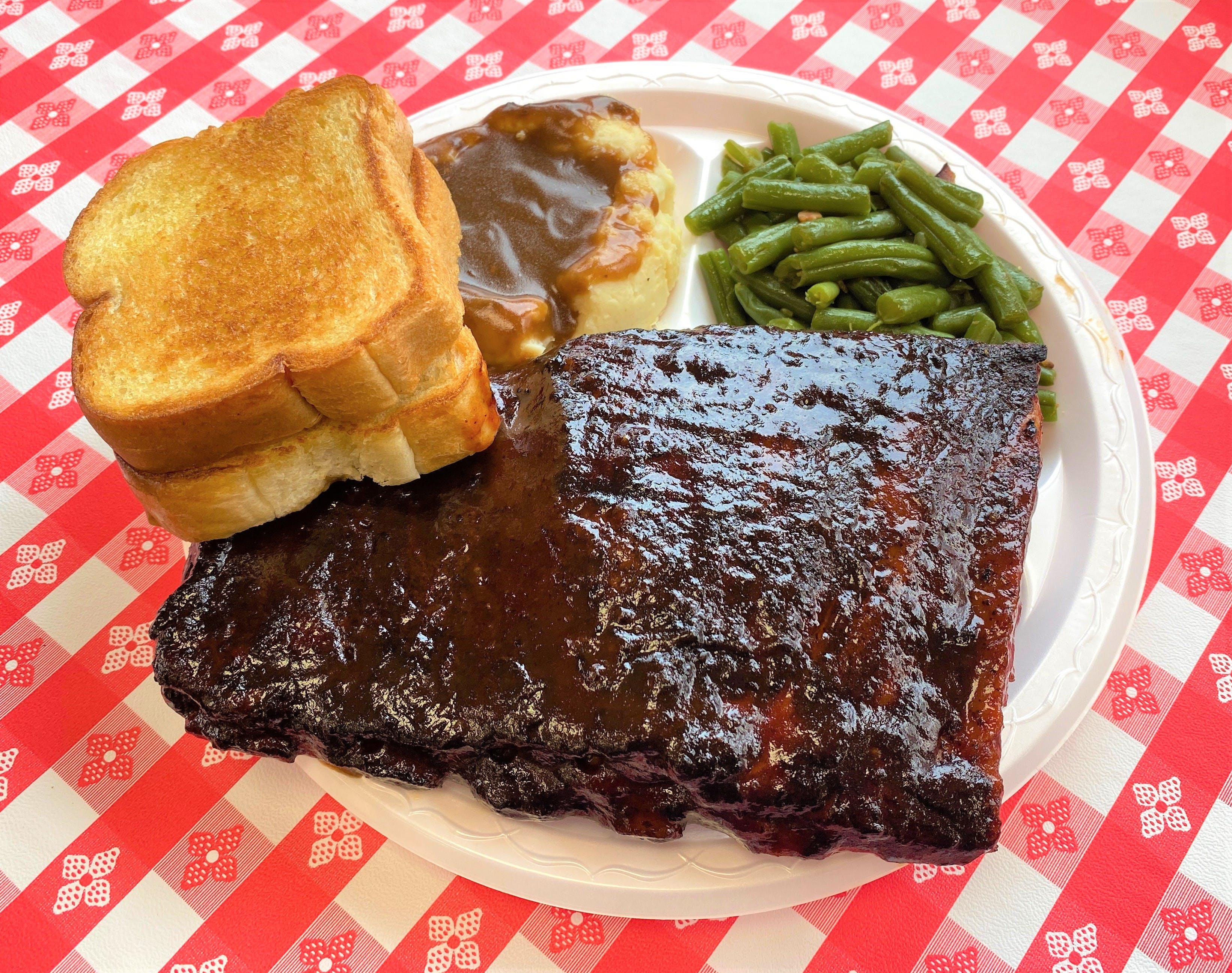 Rib Dinner from Hog Wild Pit BBQ & Catering in Lawrence, KS
