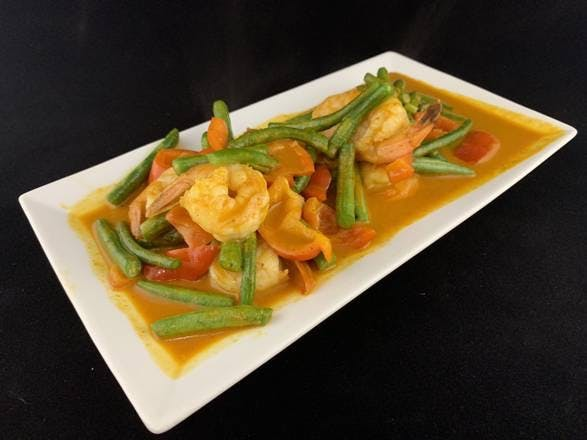 47. Pad Prix Khing (Dinner) from Sa-Bai Thong - University Ave in Madison, WI