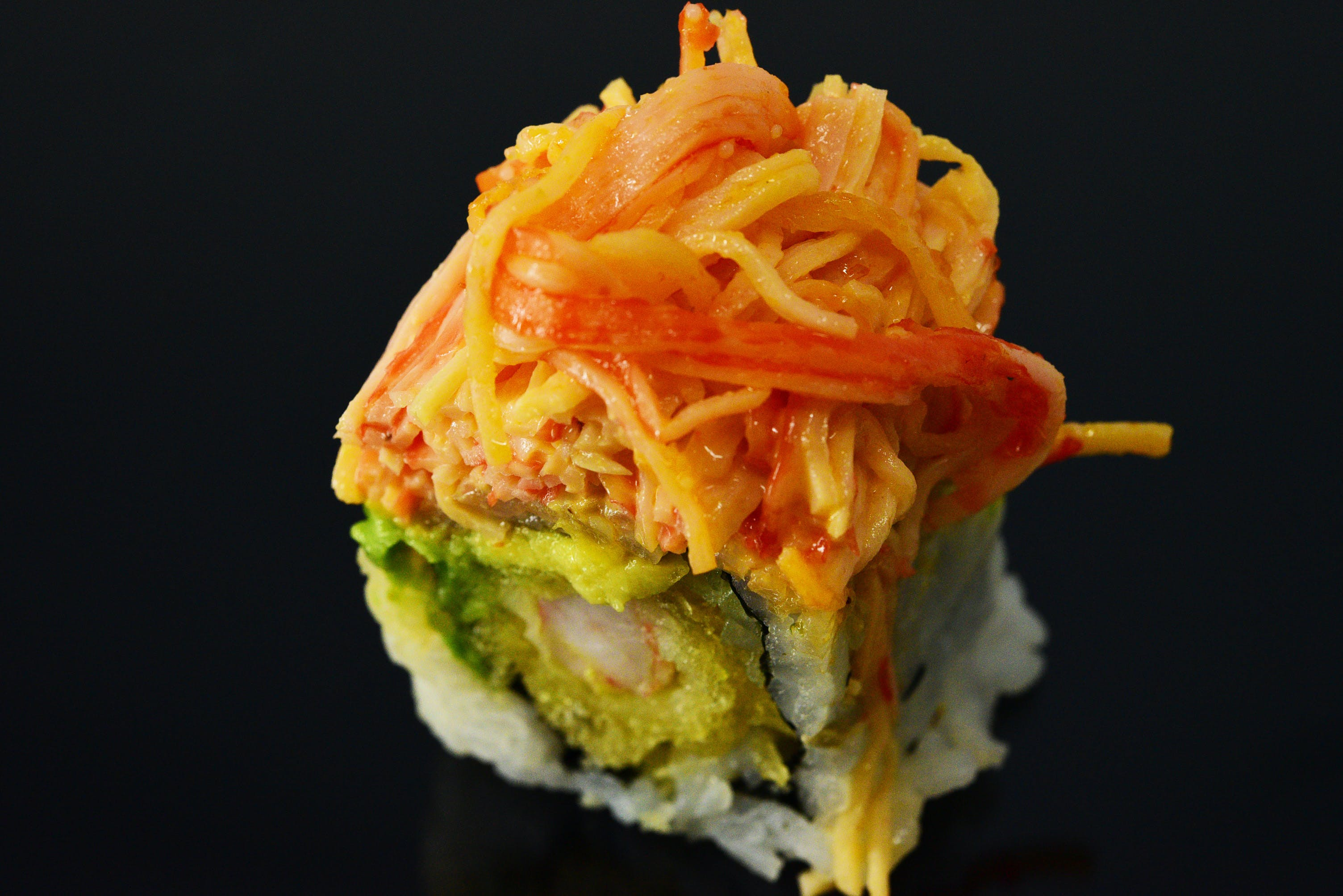 Firecracker Roll from Fin Sushi in Madison, WI
