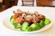 Sesame Chicken from Asian Legend in Ann Arbor, MI