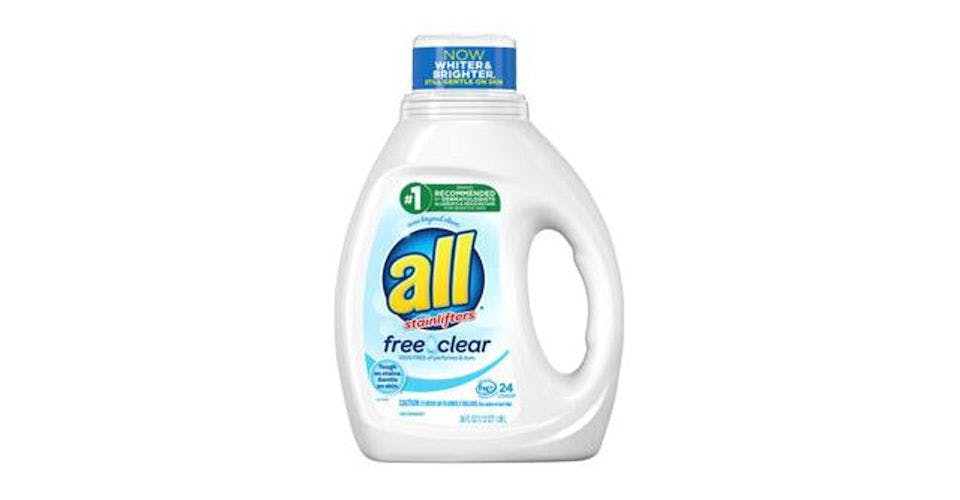 all Liquid Laundry Detergent Free Clear for Sensitive Skin (36 oz) from CVS - Main St in Green Bay, WI