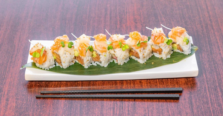 Double Toro Roll from Sakura Sushi in San Rafael, CA