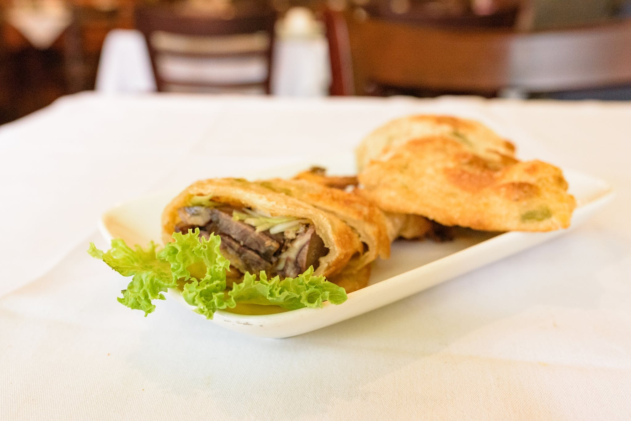 Onion Pancake Wrapped with Beef from Asian Legend in Ann Arbor, MI