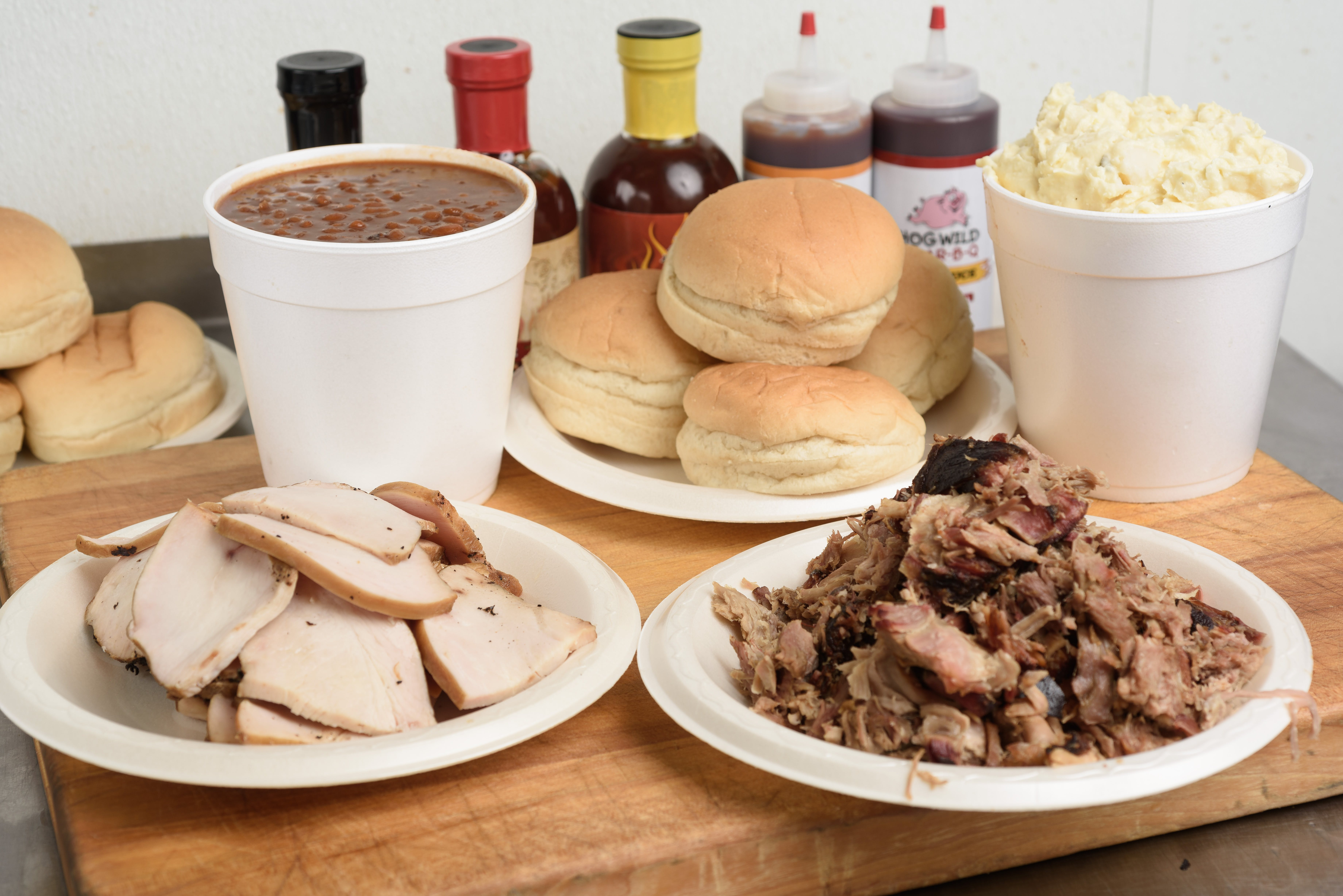 Family Pack #2 from Hog Wild Pit BBQ & Catering in Lawrence, KS