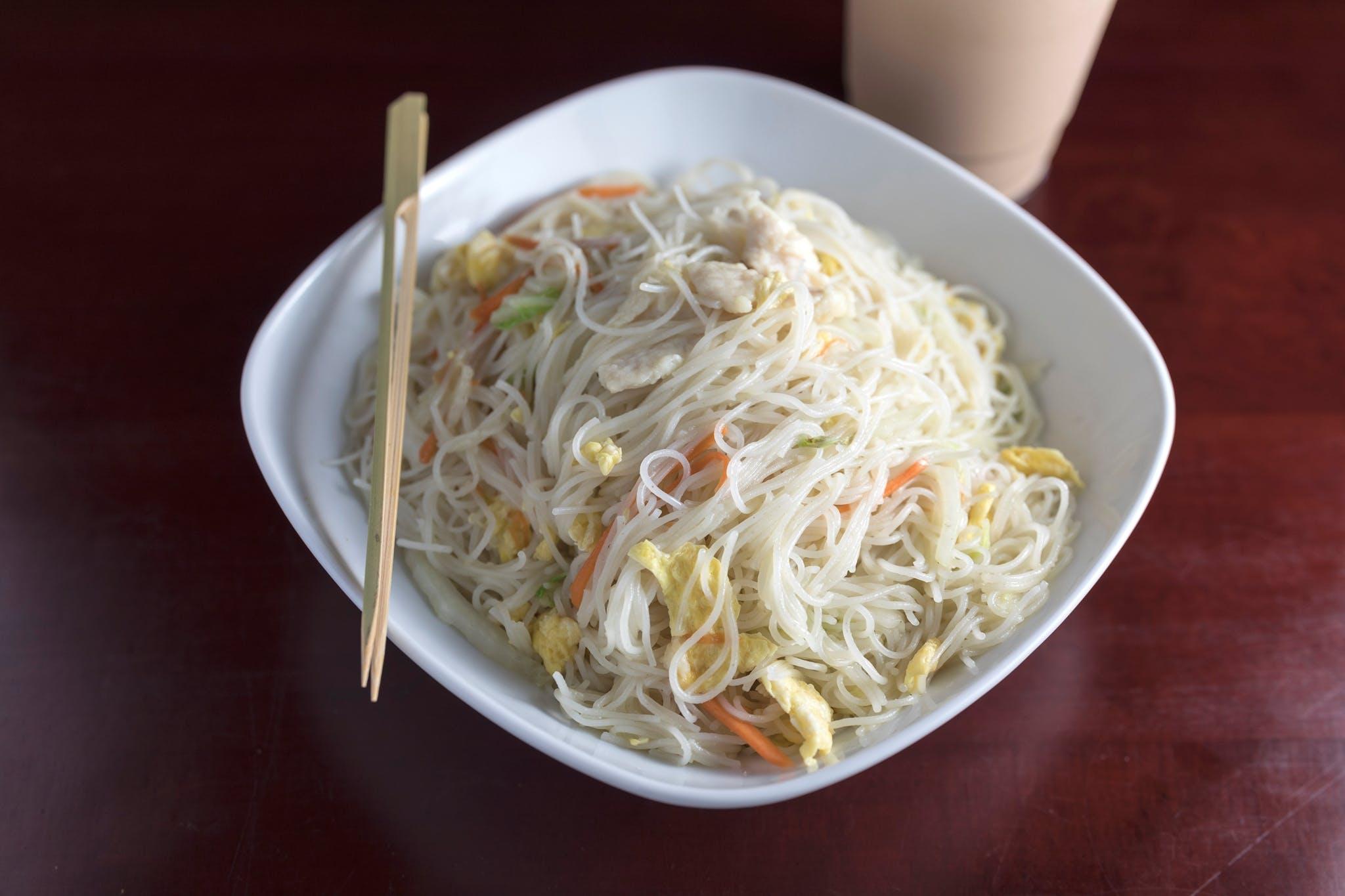 Curry Mi Fen from Jade Dragon Restaurant in Oshkosh, WI