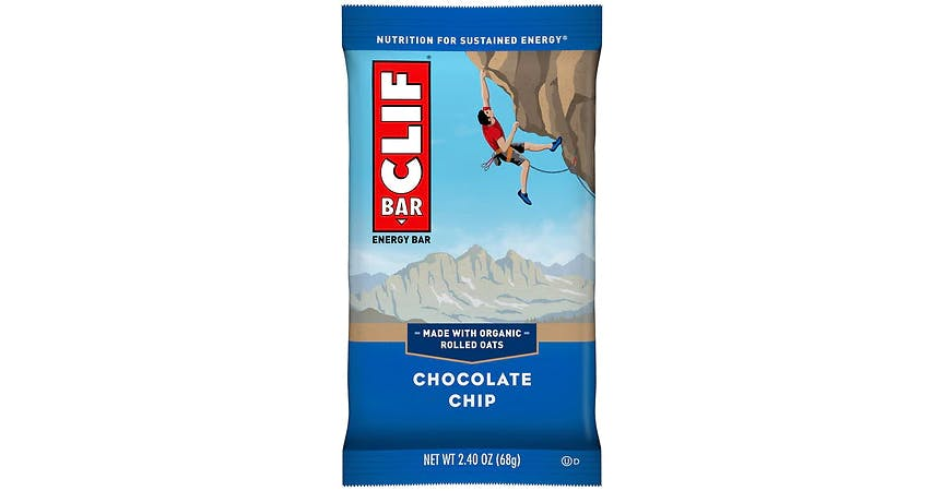 Clif Bar Energy Bar Chocolate Chip (2 oz) from EatStreet Convenience - W Mason St in Green Bay, WI