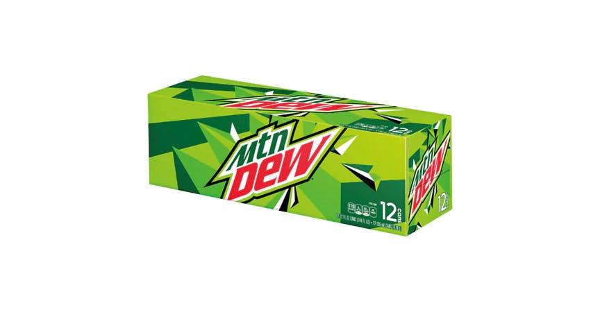 Mountain Dew Soda 12 oz (12 pack) from EatStreet Convenience - W Mason St in Green Bay, WI