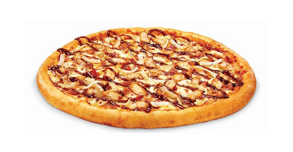 Smoky BBQ Chicken Pizza from Toppers Pizza - Madison Downtown in Madison, WI