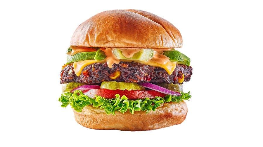 Southwestern Black Bean Burger from Buffalo Wild Wings - Manitowoc in Manitowoc, WI