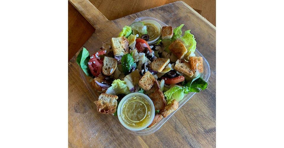 Greek Salad from Papa Keno's in Lawrence, KS