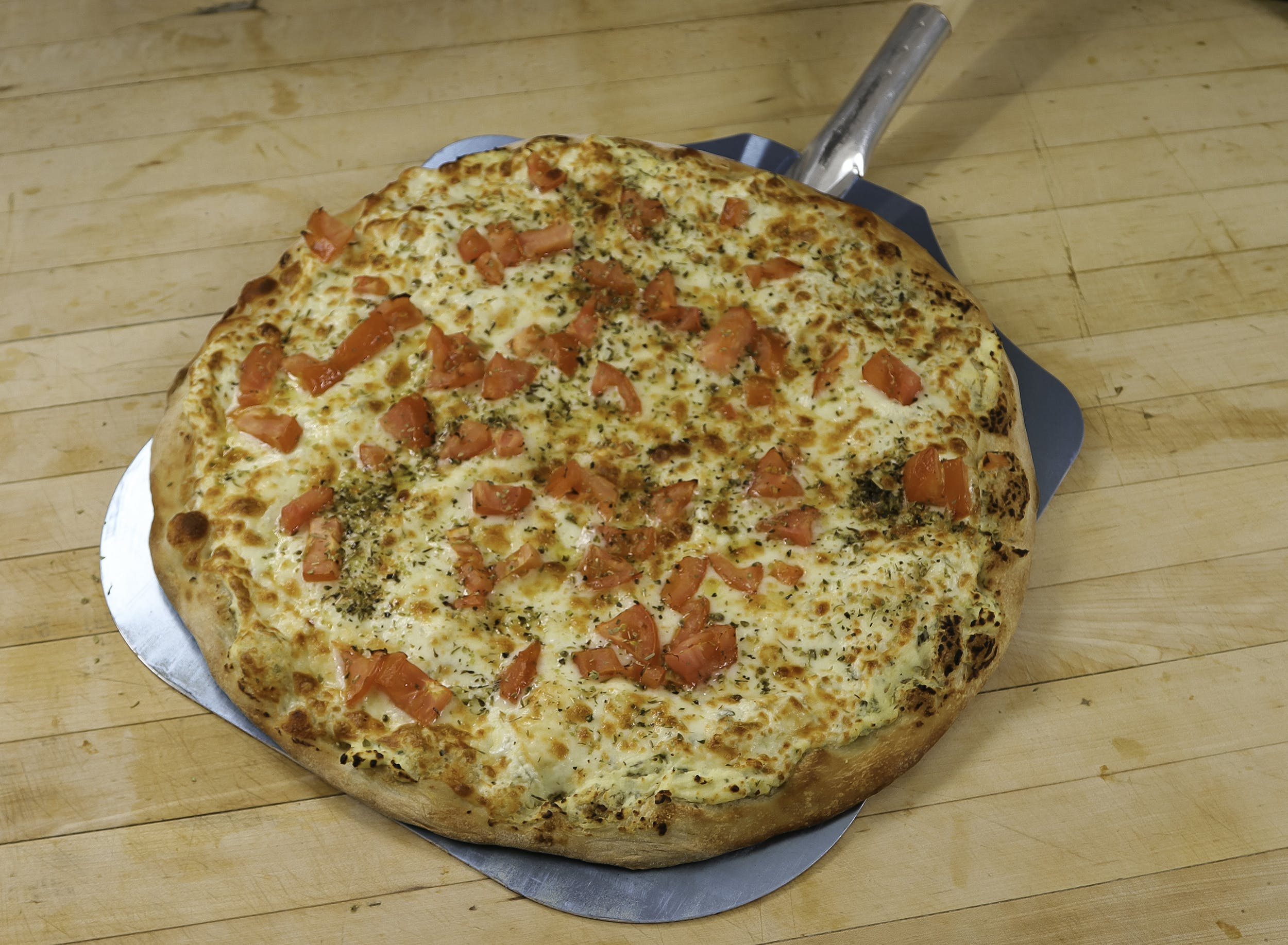 White Knight Pizza from Ameci Pizza & Pasta - Irvine in Irvine, CA