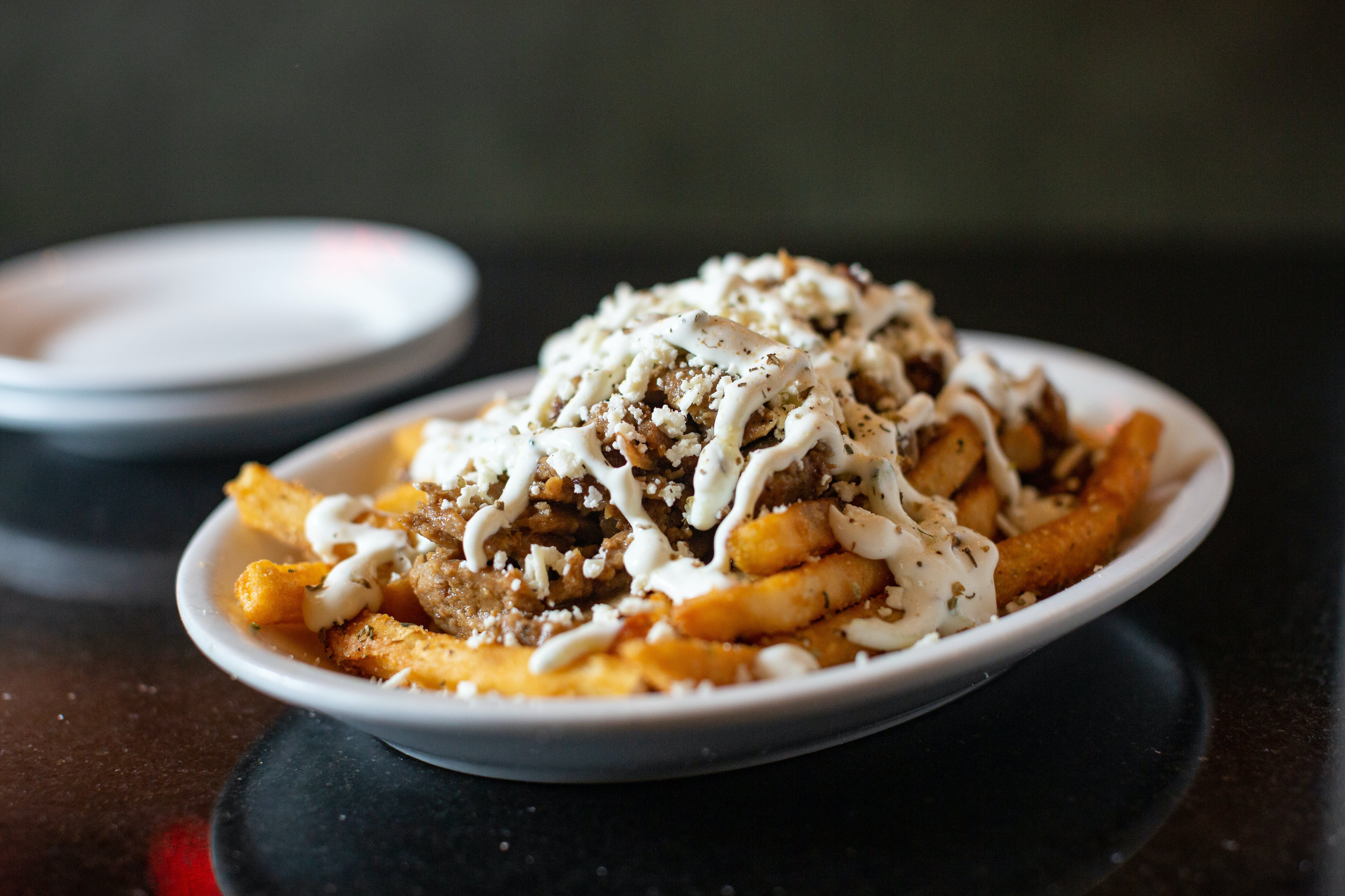 Gyros Fries from The Mad Greek in Lawrence, KS