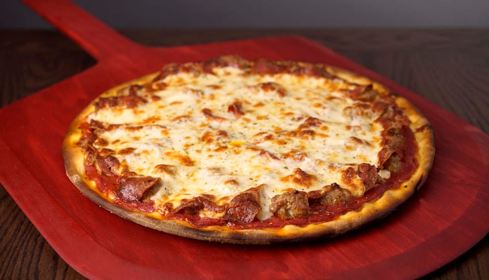 The Heavyweight Pizza from Rosati's Pizza - DeKalb in Dekalb, IL