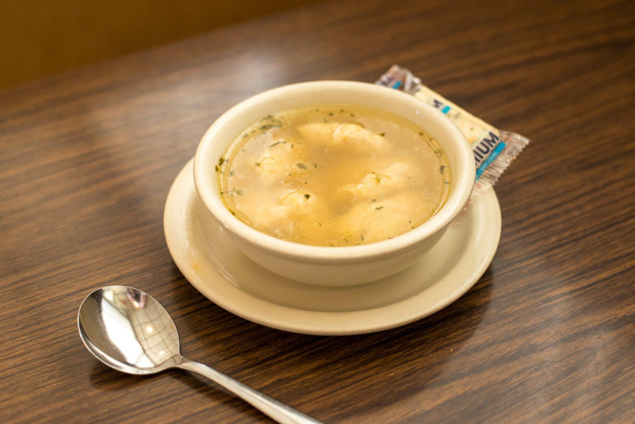 Dumpling Soup from Kroll's East in Green Bay, WI