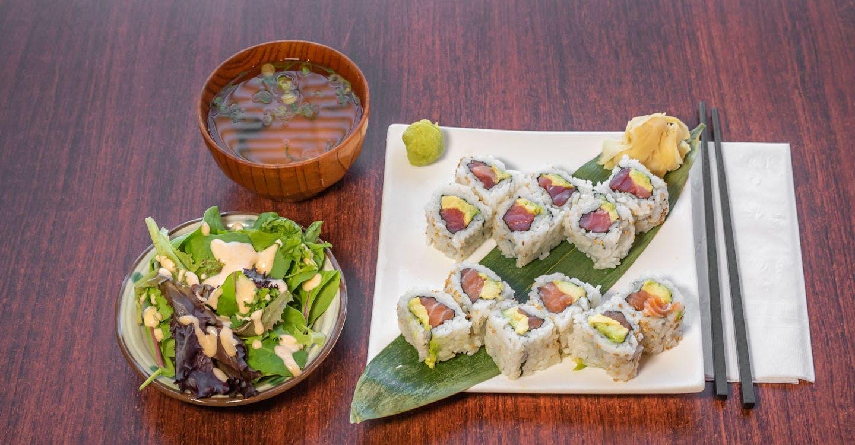 Any 2 Rolls (Lunch) from Sakura Sushi in San Rafael, CA
