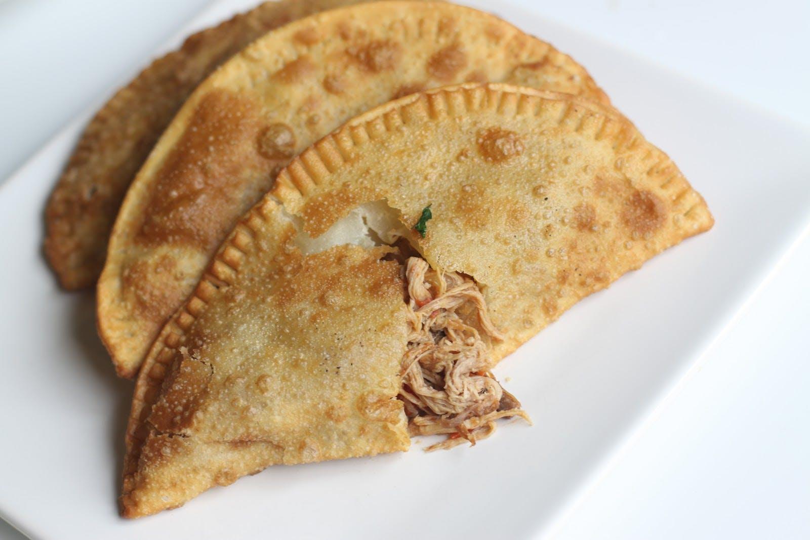 Pulled Pork Empanada from Caracas Empanadas - E Main St in Madison, WI