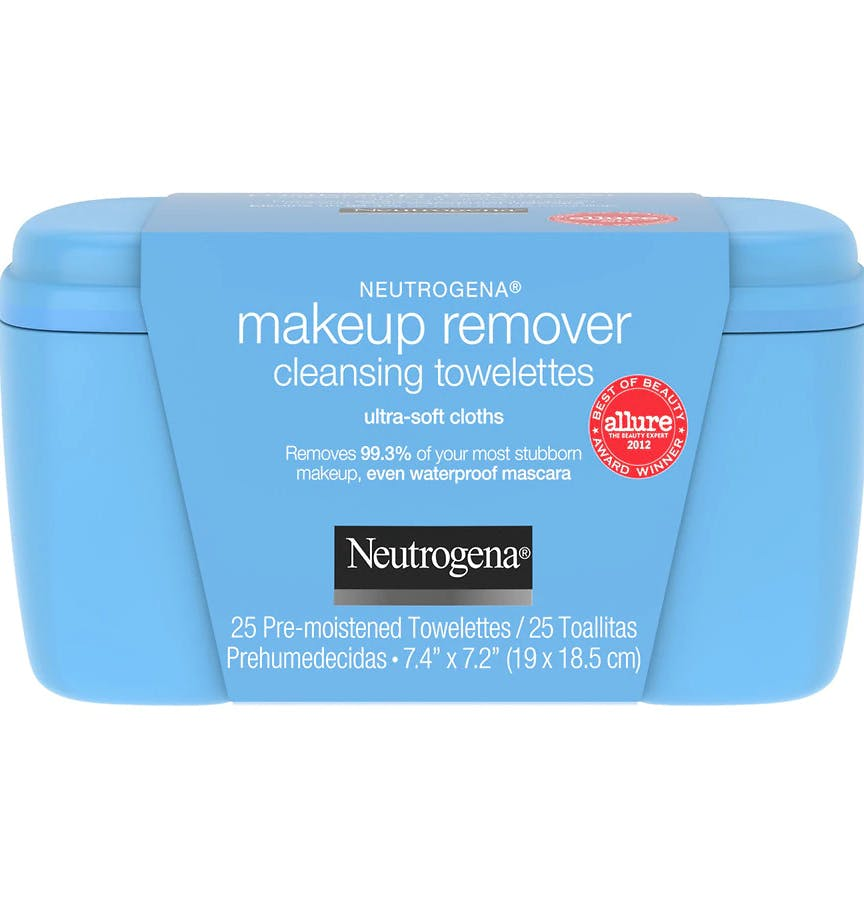 Neutrogena Makeup Remover Cleansing Pre-Moistened Towelettes (25 ct) from EatStreet Convenience - SW Wanamaker Rd in Topeka, KS