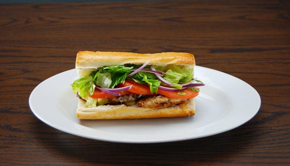 Grilled Chicken Sandwich from Rosati's Pizza - DeKalb in Dekalb, IL