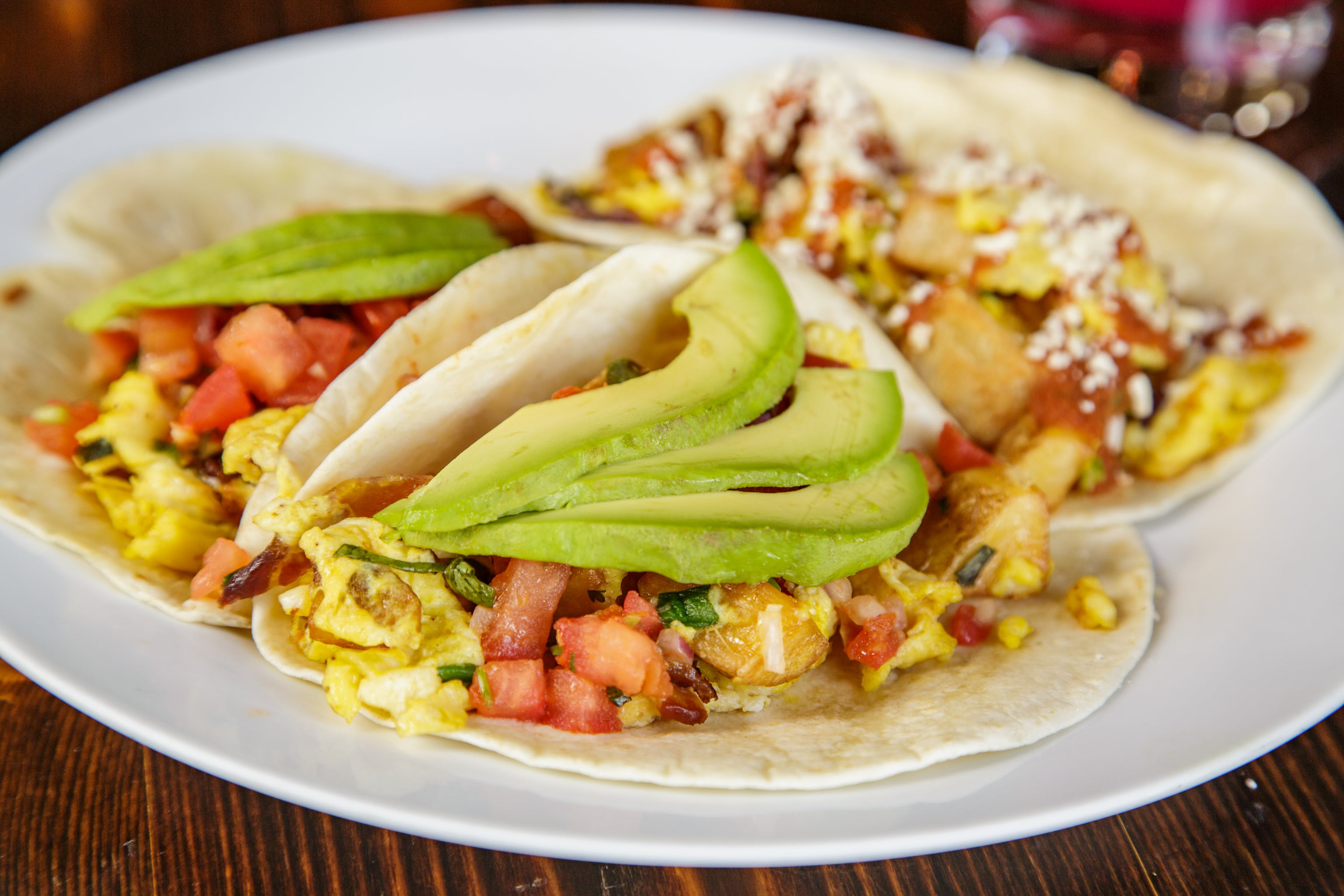 Breakfast Tacos from Pasqual's Cantina - Hilldale in Madison, WI
