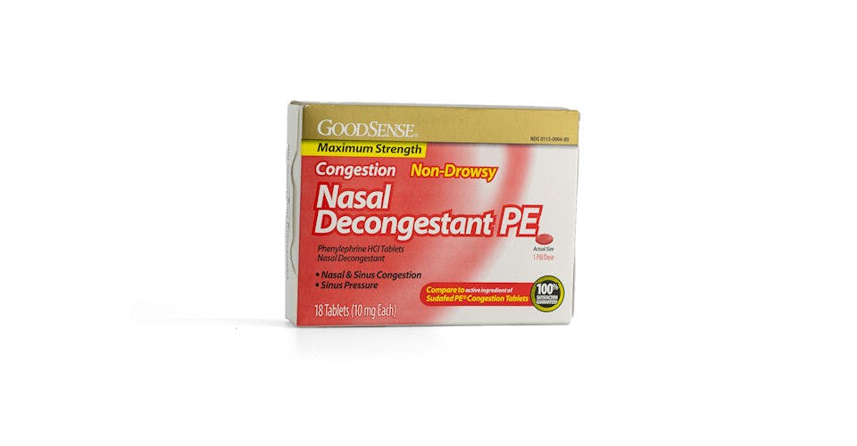 Goodsense Nasal Decongestant 18CT from Kwik Trip - Eau Claire Water St in EAU CLAIRE, WI