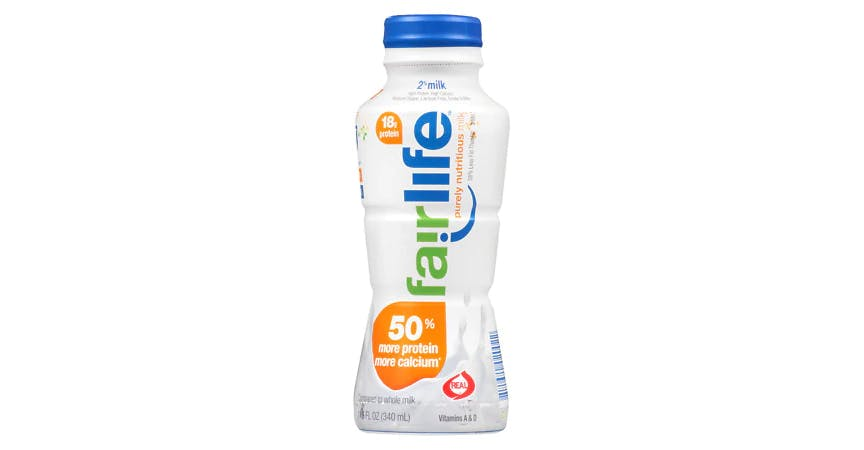 Fairlife Reduced Fat 2% Milk Single-Serve (12 oz) from EatStreet Convenience - W Mason St in Green Bay, WI