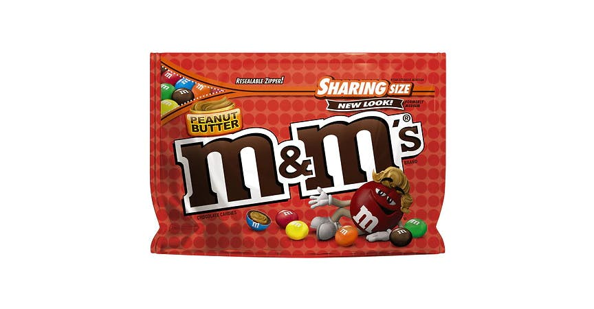 M&M's Peanut Butter Candy Bag Peanut Butter (10 oz) from EatStreet Convenience - W Mason St in Green Bay, WI