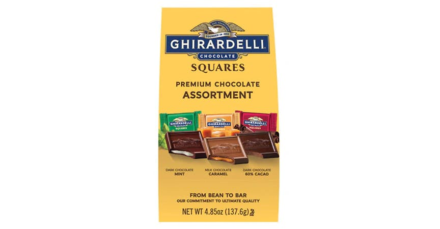 Ghirardelli Chocolate Squares Assorted Favorites (4.85 oz) from EatStreet Convenience - W Mason St in Green Bay, WI