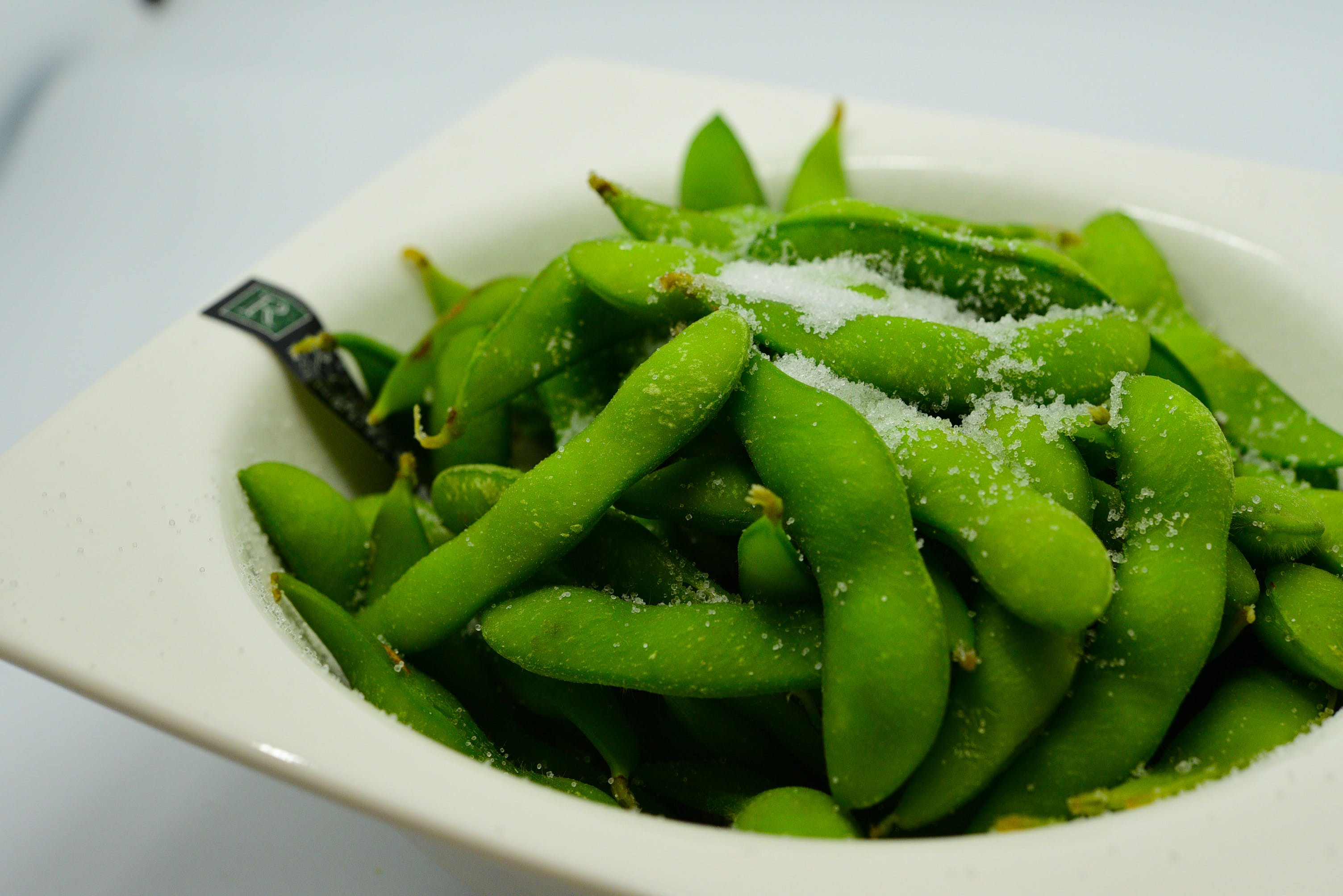 Edamame from Fin Sushi in Madison, WI