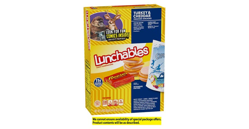 Oscar Mayer Lunchables Lunch Combinations (3 oz) from EatStreet Convenience - W Mason St in Green Bay, WI