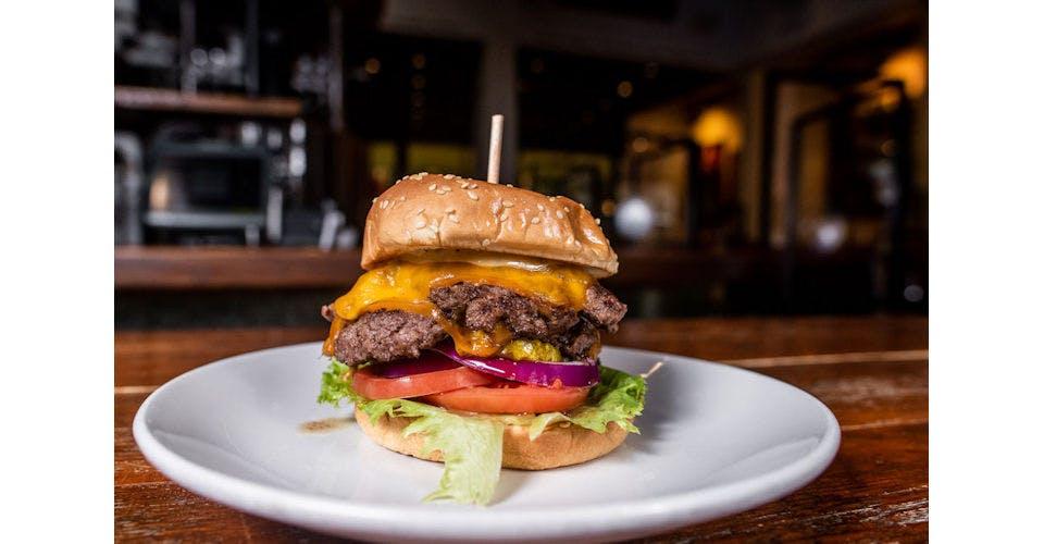 Classic Diner Burger from Tallgrass Taphouse in Manhattan, KS