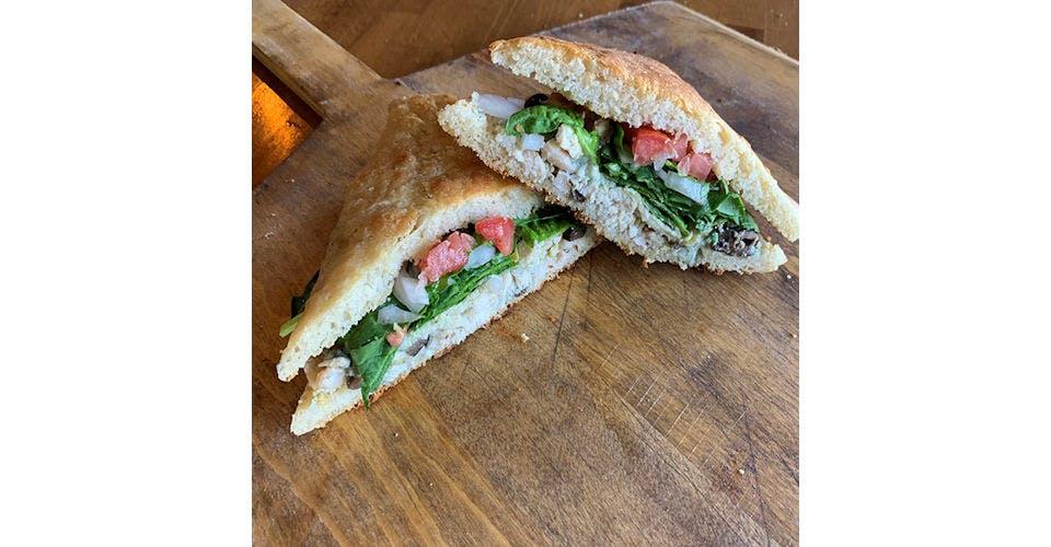 Chicken Whoa Sandwich from Papa Keno's in Lawrence, KS