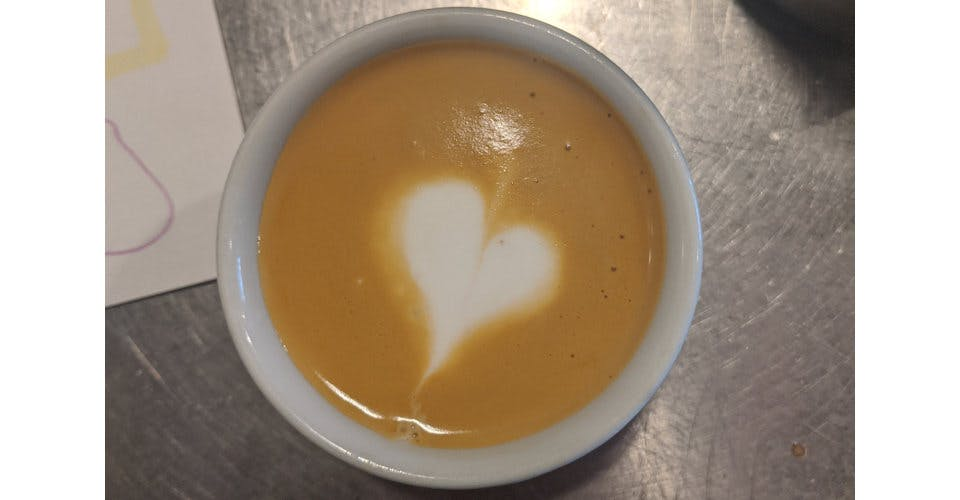 Cortado, 6 oz. from Patina Coffeehouse in Wausau, WI