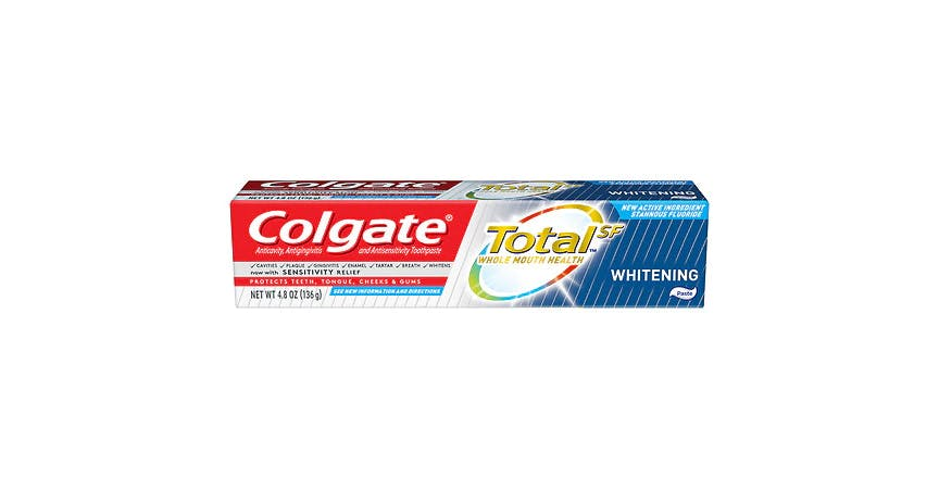 Colgate Total Toothpaste Whitening (5 oz) from EatStreet Convenience - SW Wanamaker Rd in Topeka, KS