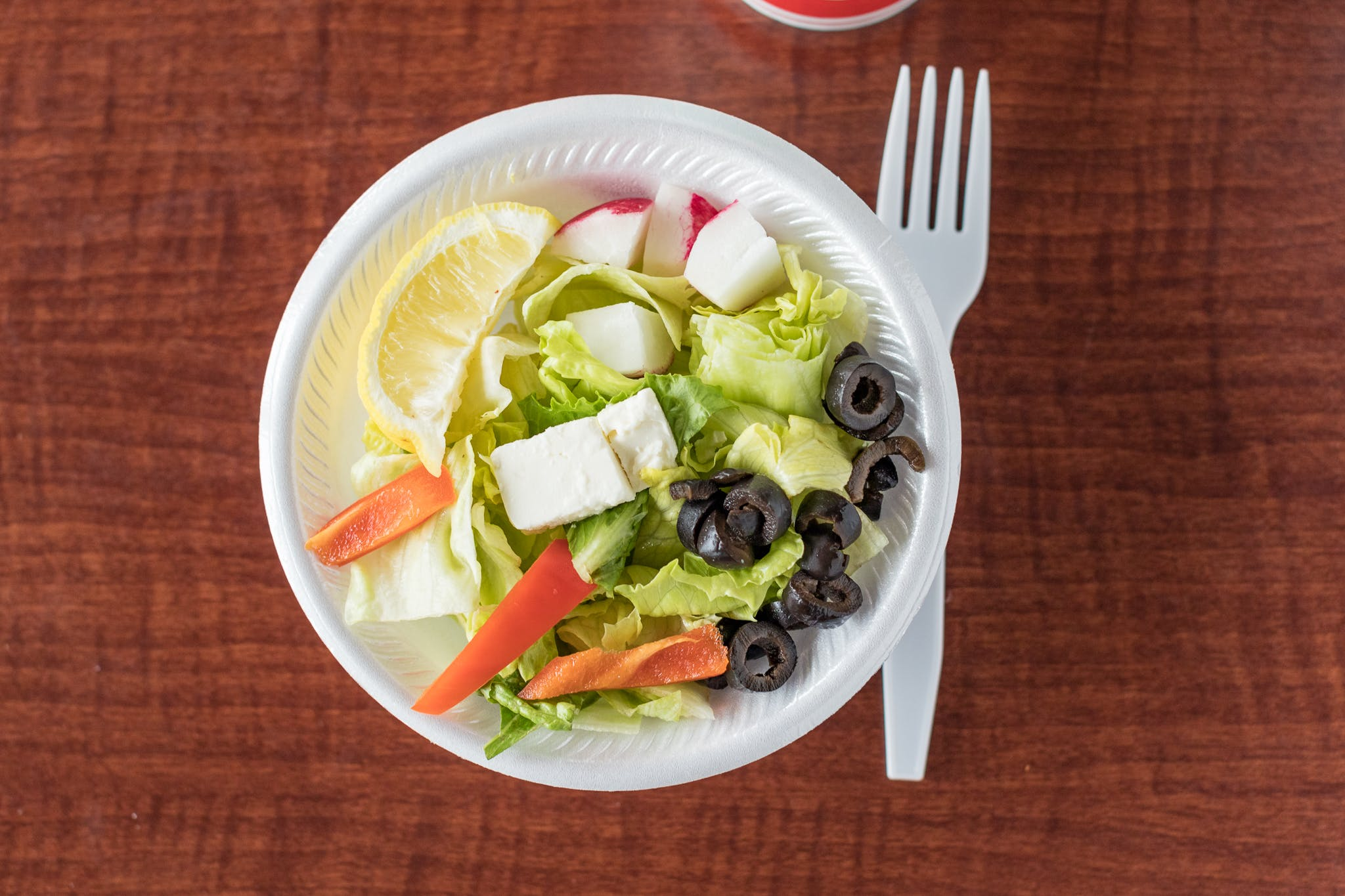 Large Salad from Johnny's Pizza Shop in Eau Claire, WI