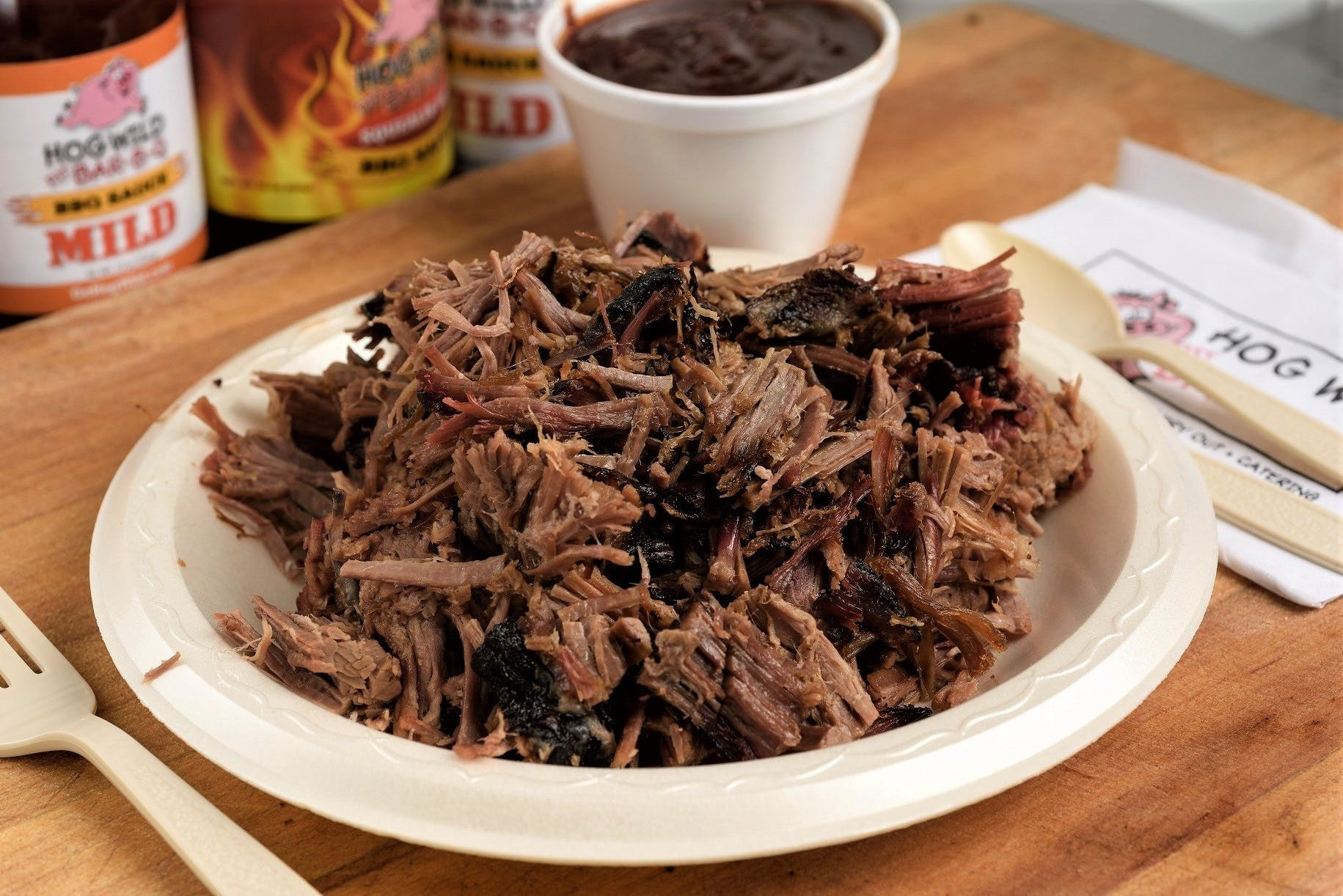 Beef Brisket from Hog Wild Pit BBQ & Catering in Lawrence, KS