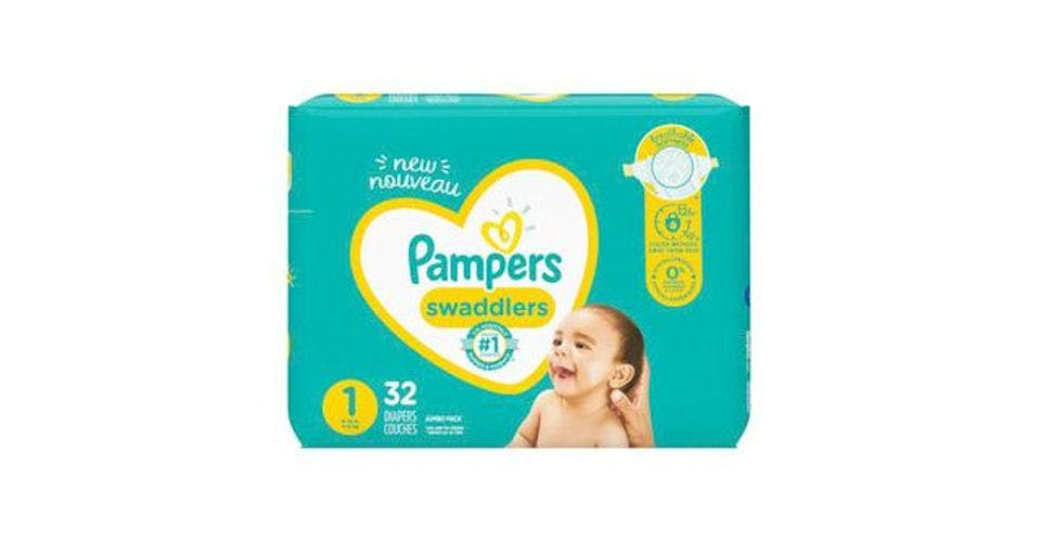 Pampers Swaddlers Newborn Diapers Size 1 (32 ct) from CVS - Main St in Green Bay, WI