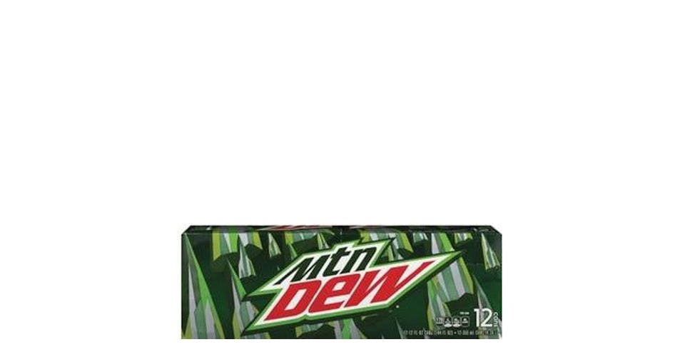 Mountain Dew Can 12 Pack (12 oz) from CVS - Main St in Green Bay, WI