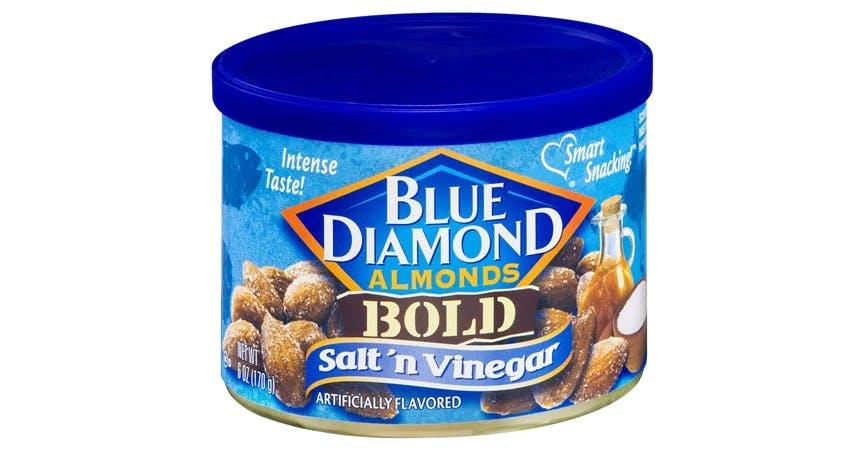 Blue Diamond Bold Almonds Salt 'n Vinegar (6 oz) from EatStreet Convenience - SW Gage Blvd in Topeka, KS