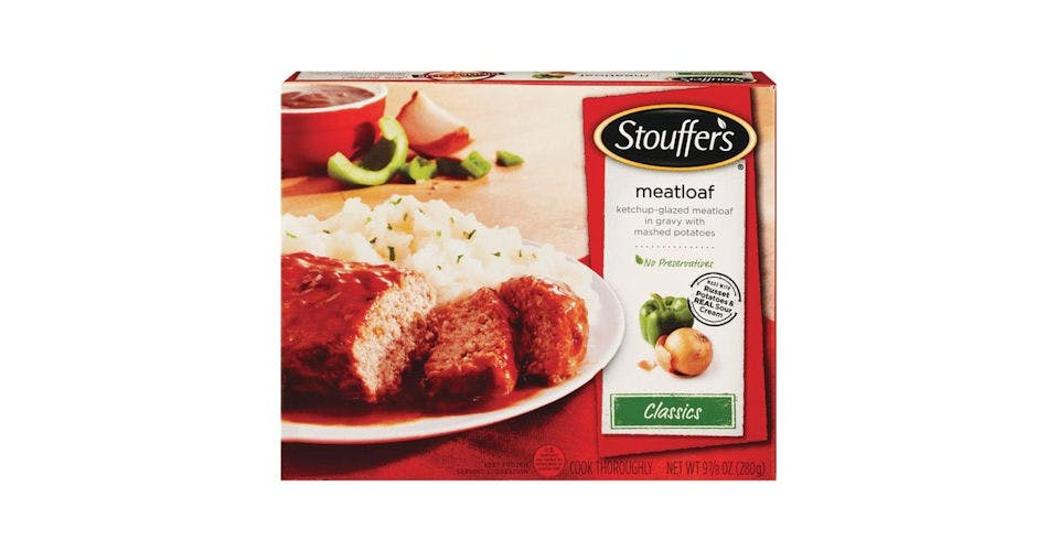 Stouffer's Classics Frozen Meatloaf with Gravy & Potatoes (9.875 oz) from CVS - Main St in Green Bay, WI