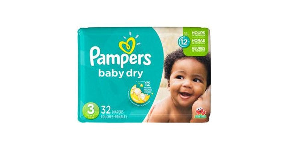 Pampers Baby Dry Diapers Size 3 (32 ct) from CVS - Main St in Green Bay, WI