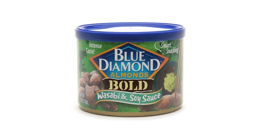 Blue Diamond Bold Almonds Wasabi & Soy Sauce (6 oz) from EatStreet Convenience - Historic Holiday Park North in Topeka, KS