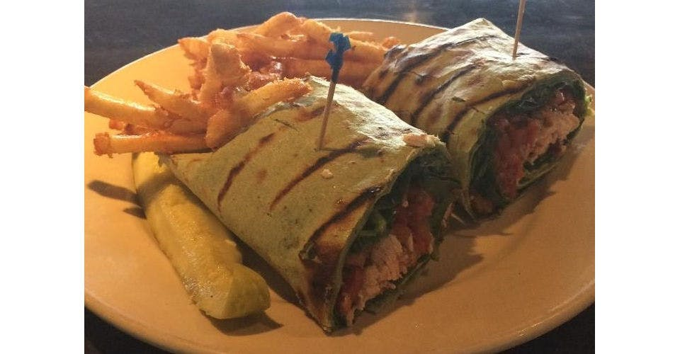 Bruschetta Chicken Wrap from Grazies Italian Grill in Stevens Point, WI