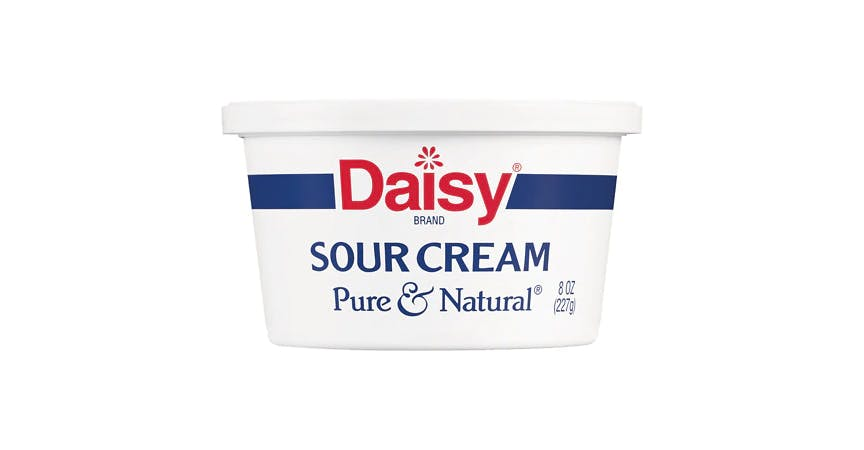 Daisy Pure & Natural Sour Cream (8 oz) from EatStreet Convenience - W Mason St in Green Bay, WI