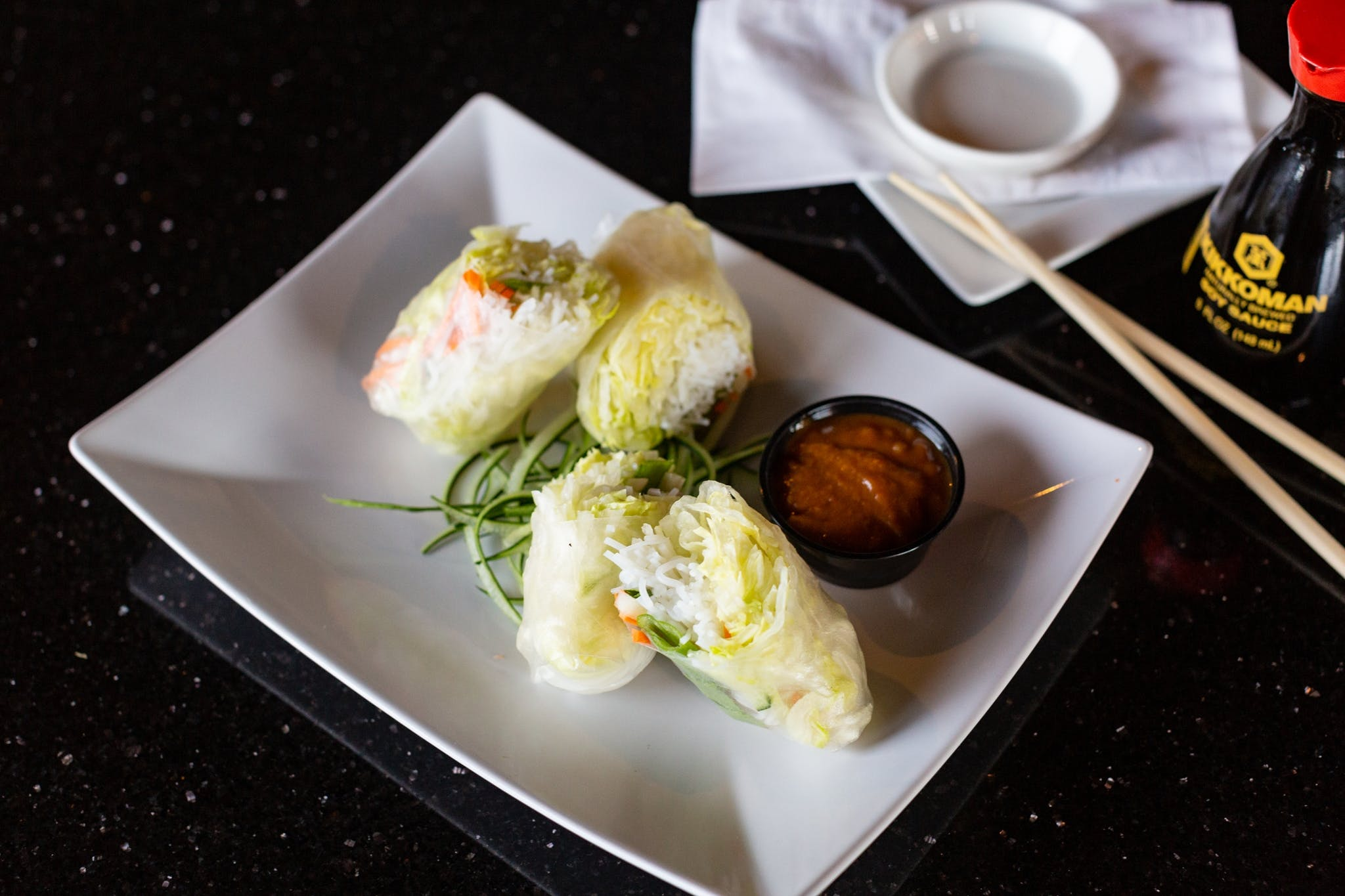 Summer Rolls (2) from Oriental Bistro & Grill in Lawrence, KS