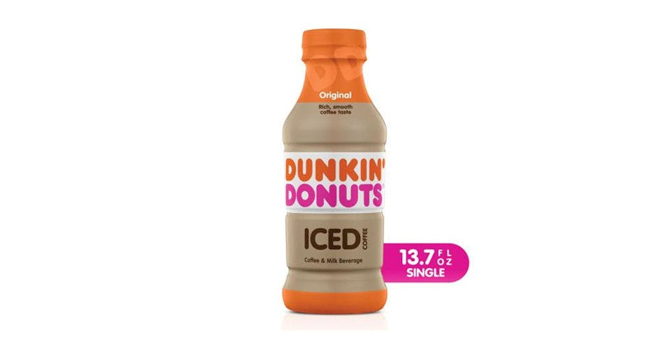 Dunkin Donuts Original Iced Coffee (13.7 oz) from CVS - Main St in Green Bay, WI