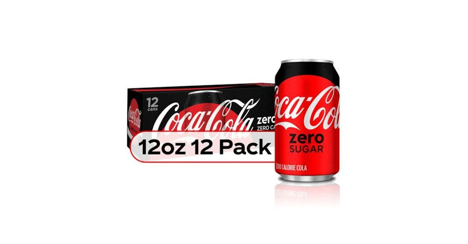 Coca Cola Zero Calorie 12 oz Cans (12 pk) from CVS - Main St in Green Bay, WI