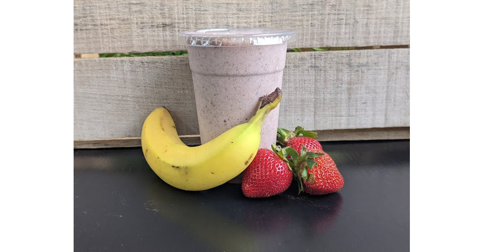 The Power Smoothie from Basics Co-op Cafe in Janesville, WI